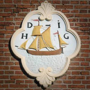 gevelsteen in Harlingen