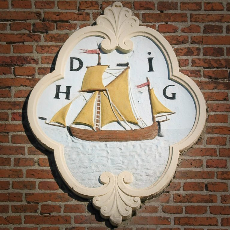gevelsteen in Harlingen