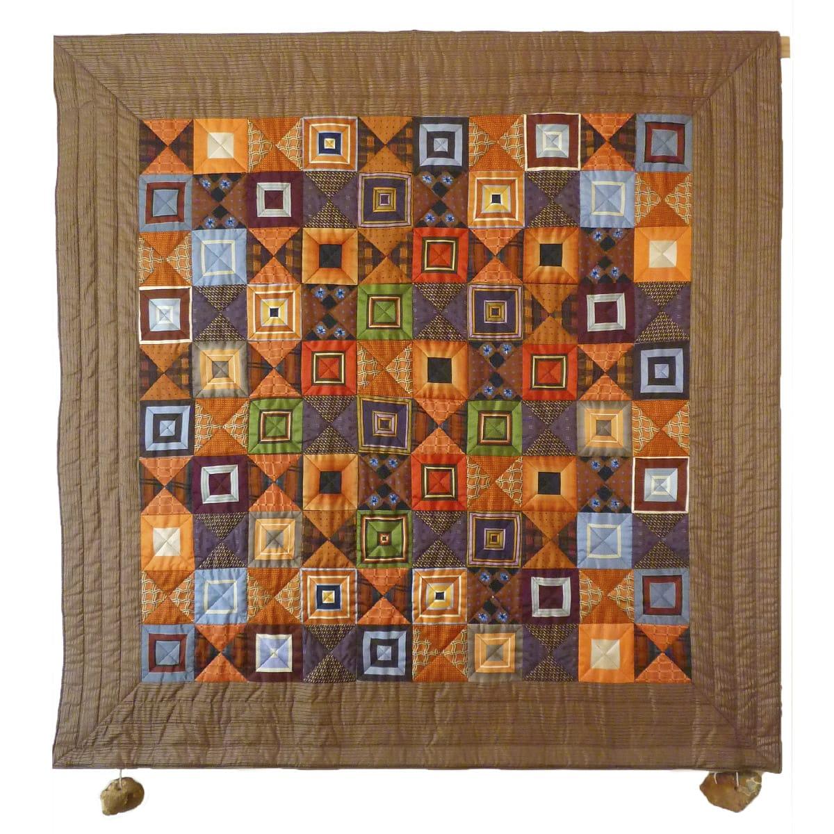 Tonnie Haarsma patchwork: 100 vierkanten
